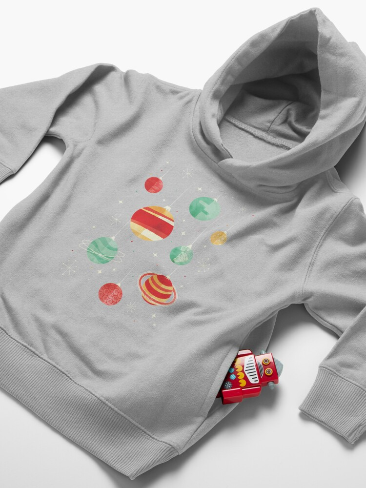 Alternate view of Joy to the Universe Toddler Pullover Hoodie