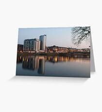 Limerick at night Greeting Card