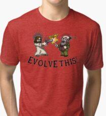 Evolve this!! Tri-blend T-Shirt