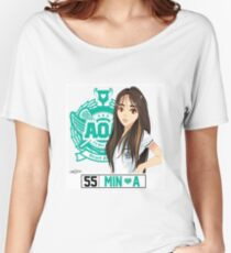 AOA Mina (Heart Attack) Women's Relaxed Fit T-Shirt