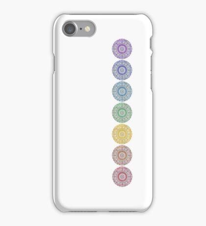 seven chakras iPhone Case/Skin