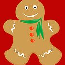 Gingerbread Man by Jessica Slater