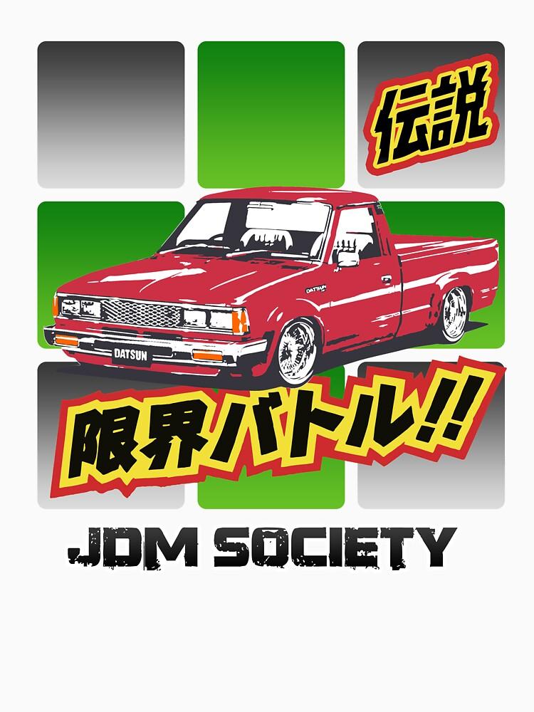 Datsun 720 by carsaddiction