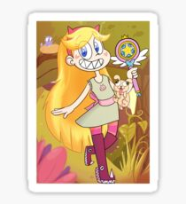 Star Butterfly Vs The Forces of Evil Sticker
