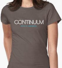 John Mayer Continuum Womens Fitted T-Shirt