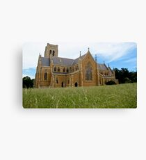 Goulburn Cathedral Canvas Print