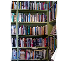 book shelves Poster