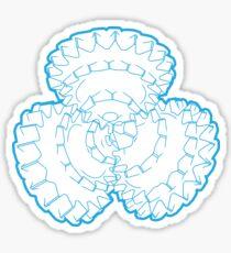 Blue Drill Sticker