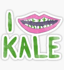 I Heart Kale Sticker