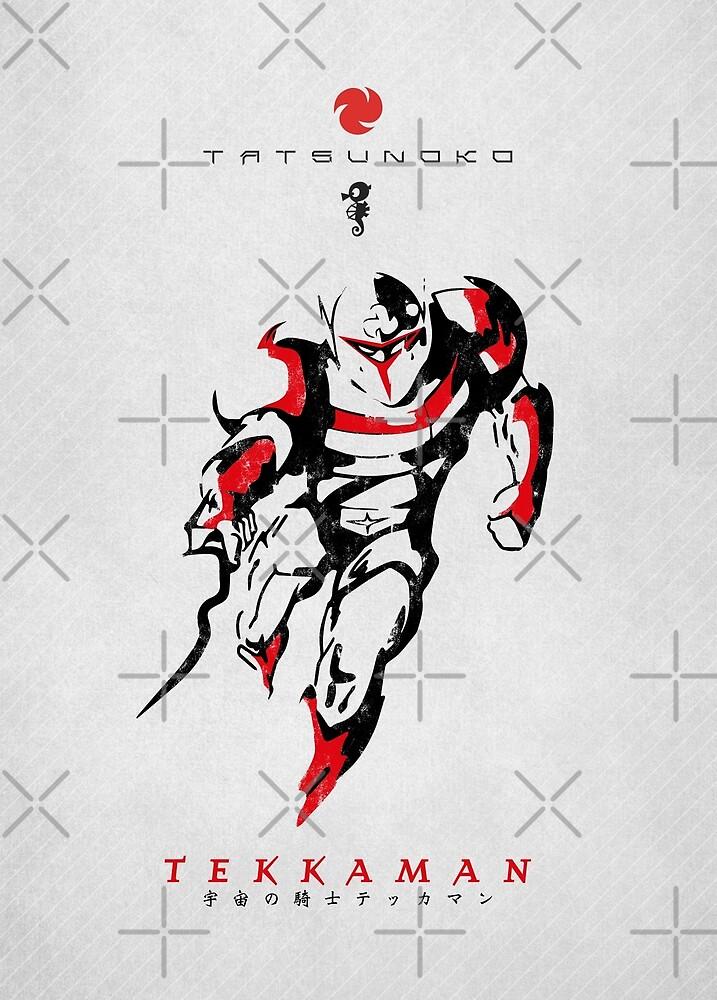 016 Tekkaman Sketch by yexart