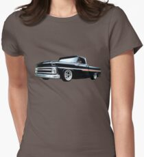 65 Chevy C-10 Stopping at Roy's on Route 66 T-Shirt