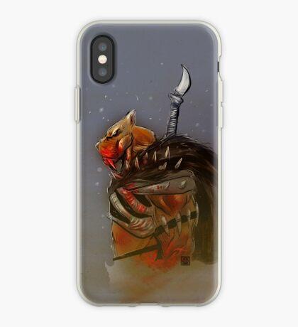 Smilodon Hunter iPhone Case