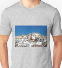 Living in Oia Unisex T-Shirt
