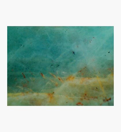 Beach In Winter Photographic Print