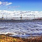 New Forth Crossing - 3 March 2015 by Tom Gomez
