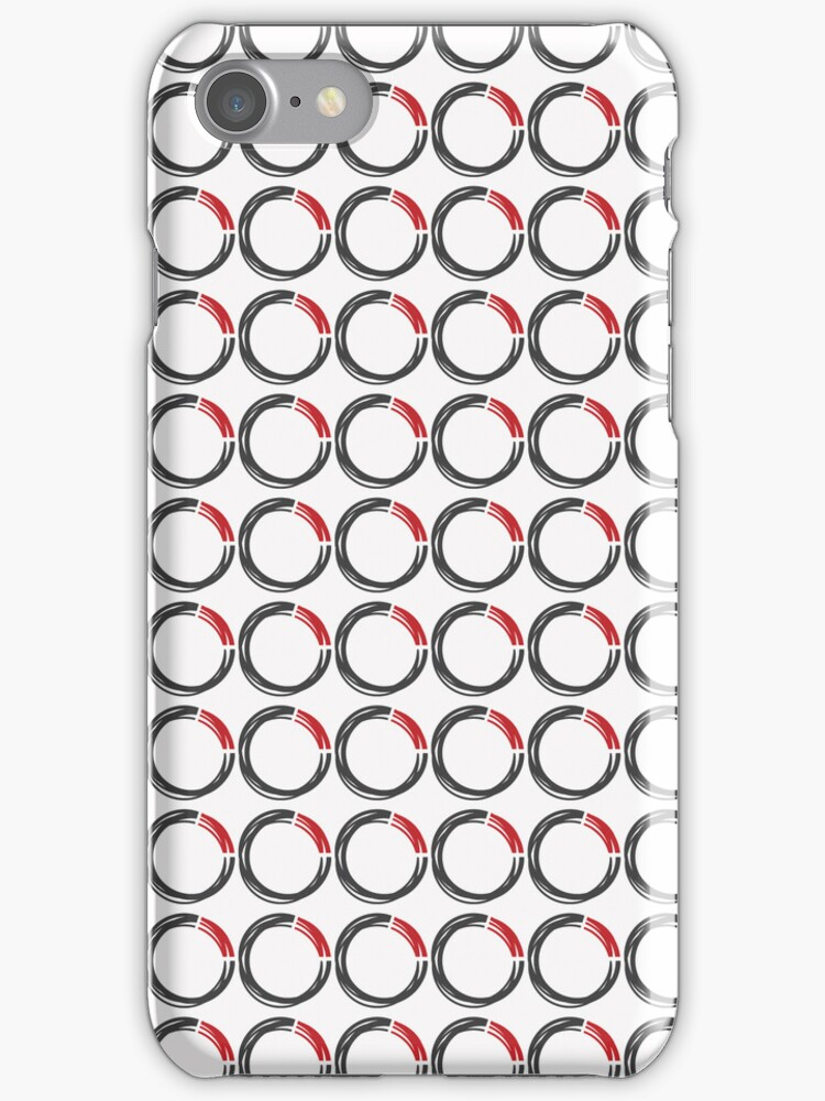 8020 Tile iPhone Case (White) by 8020Vision