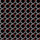 8020 Tile iPhone Case (Black) by 8020Vision