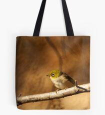 Silver Eye Tote Bag