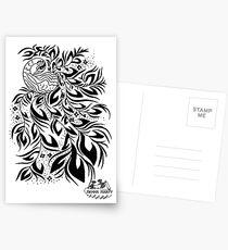Peacock #4 Postcards