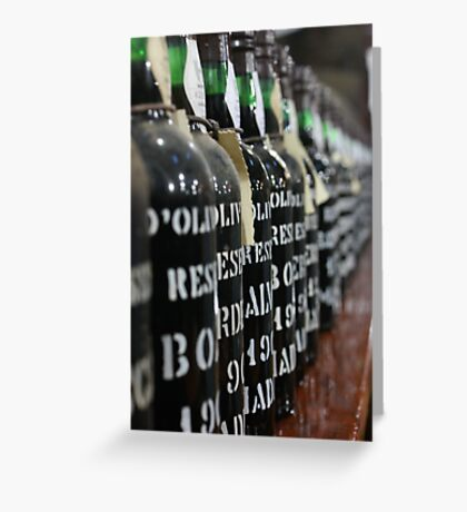 Liquid Assets Greeting Card