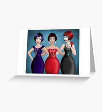 a night out Greeting Card