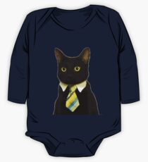 Business Cat One Piece - Long Sleeve