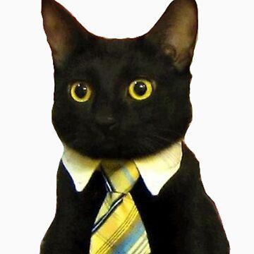 Business Cat by adamrwhite