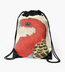 Eastern Rosella Drawstring Bag