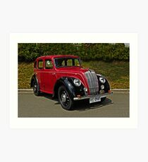 Morris Eight Series E 1947 Art Print
