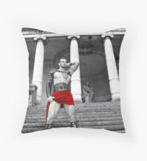 Stuart Reardon - Stadium God Throw Pillow