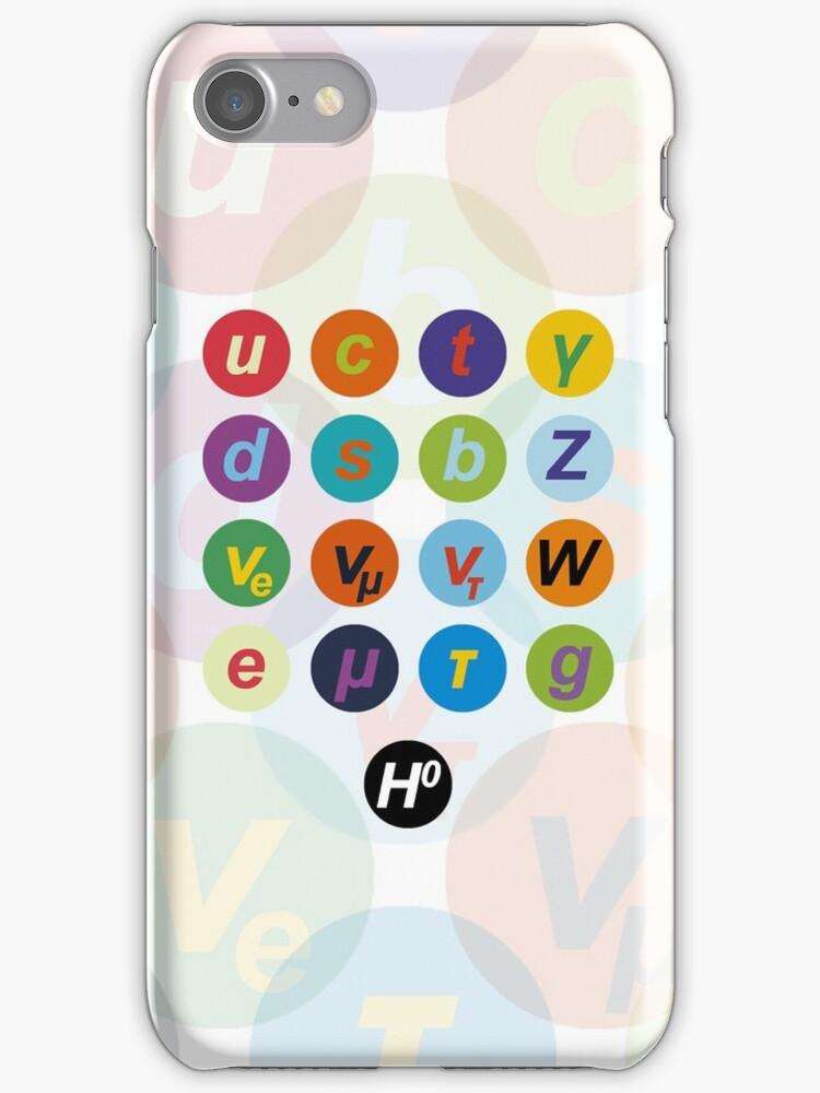 Standard Model Warhol iPhone case by Neil Davies
