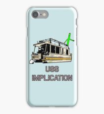 USS Implication iPhone Case/Skin