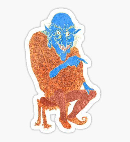 The Demon Storyteller Sticker