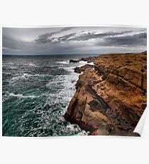 Looking North ~ Boiler Bay ~ Poster