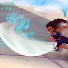 Connie Maheswaren  by LuckyCharmKitty