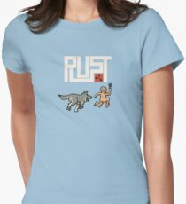 For the best Rust players Fitted T-Shirt