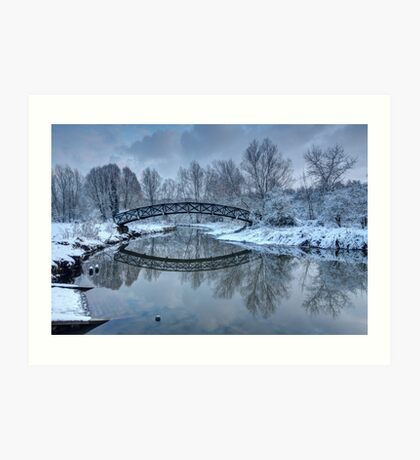 The Winter Crossing Art Print