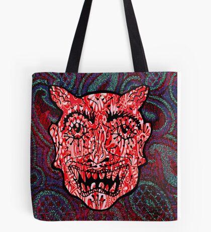 'Handsome Devil Mask #3' Tote Bag