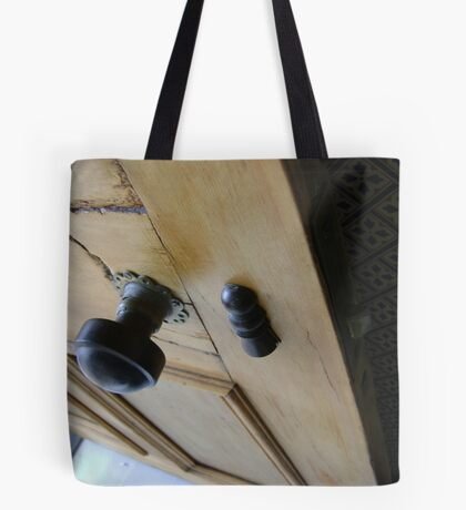admission granted (old wood door) Tote Bag