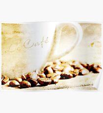 Le café Poster