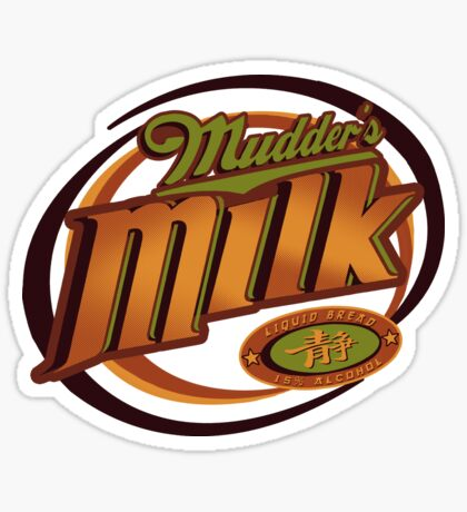 Mudder's Milk Sticker