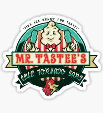 Mr. Tastee's Blue Tornado Bars Sticker