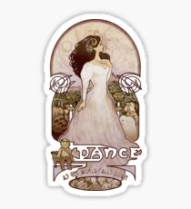 As the World Falls Down Sticker