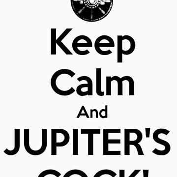 Spartacus - Jupiter's Cock [Black Lettering] by ldyghst