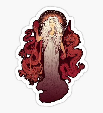 Dragon Mother Sticker