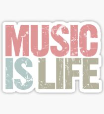 Music is Life (Special Edition) Sticker