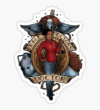 The Doctor's Doctor Sticker