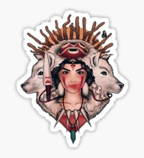 Spirit Princess Sticker