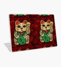 'Shiny Lucky Cat' Laptop Skin