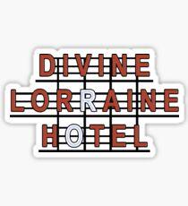 Divine Lorraine Hotel - Philadelphia, Pa Sticker